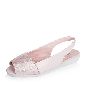BATA/拔佳夏季专柜同款牛皮革女皮凉鞋55602BL6