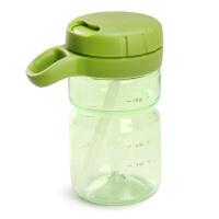 美国OXO tot吸管杯易挂儿童吸管杯 宝宝防漏扭盖喝水杯易握学饮杯