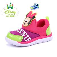 迪士尼童鞋2016春儿童学步鞋运动鞋男童鞋米奇宝宝鞋女童鞋米妮童鞋