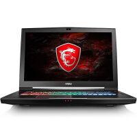 微星 (MSI) GT73VR 7RE-451CN 17.3英寸游戏笔记本电脑 i7-7820HK 16G 1T+256GBSSD GTX1070 背光 黑色官方标配