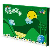 乐优右脑早教闪卡 气象标志卡 30种天气气候卡婴幼儿童宝宝益智玩具早教启智5个月-6岁