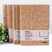 联华文具/环保格调精装本 复古牛皮纸空白日记笔记本 记事本子 A5