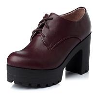 Tata/他她年专柜同款小牛皮女单鞋2C122CM5
