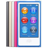 苹果Apple iPod nano 16G MP4多媒体播放器(2.5英寸触摸屏/蓝牙/FM收音机/视频播放 苹果耳机Earpods 内置Nike+计步器)智能运动MP3音乐播放器)