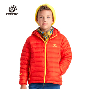 tectop 探拓/户外儿童羽绒服轻薄保暖户外羽绒服超轻羽绒服YW6693