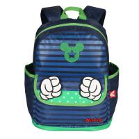 迪士尼 幼儿园书包男童女童米奇卡通中小班 儿童双肩背包 SM80824