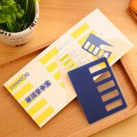 艺蓝0014韩国创意文具可遮盖学生可爱本子随身英语单词本记事本带挡板