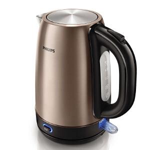 Philips/飞利浦 HD9332电热水壶304不锈钢双层保温全自动电烧水壶