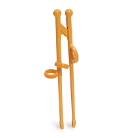 米仔玉米儿童智力学习训练筷 玉米淀粉可自然降解 聚乳酸PLA 筷子