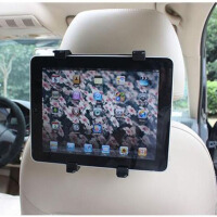 驰航 平板电脑iPad3 车载头枕支架车用笔记本架汽车后座椅背支架