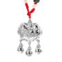 梦克拉 S990银宝宝锁吊坠 长命富贵 项链吊坠  可礼品卡购买
