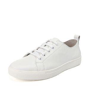 Belle/百丽秋专柜同款时尚百搭小鞋牛皮男休闲鞋4RL01CM6