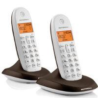 摩托罗拉C1001OC /C1002OC 数字无绳电话机 无线座机 来电显示 子母机 家用座机办公电话 中文提示