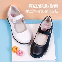 芭比童鞋女童皮鞋春秋 2016儿童单鞋小女孩鞋子韩版公主鞋豆豆鞋