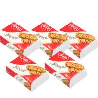 包邮 比利时进口 Lotus和情缤咖时焦糖风味饼干125g*5 饼干零食品