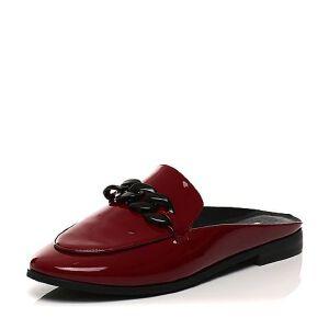 Belle/百丽2017春红色时尚英伦牛皮女鞋11016AH7