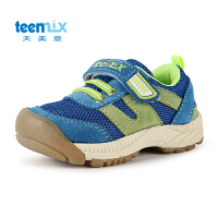 Teenmix/天美意童鞋2016新品儿童机能鞋儿童男女小童网面童鞋学步CX6124