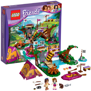 [当当自营]LEGO 乐高 好朋友系列 冒险营地漂流场 积木拼插儿童益智玩具 41121