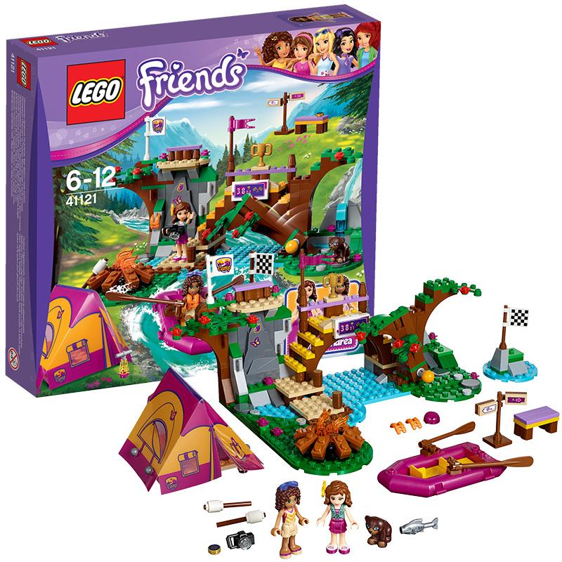 [当当自营]LEGO 乐高 好朋友系列 冒险营地漂流场 积木拼插儿童益智玩具 41121【当当自营】2016年新品!适合6-12岁,320pcs小颗粒积木