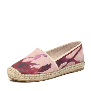 BATA/拔佳夏季专柜同款羊绒皮女休闲鞋AS720BM6