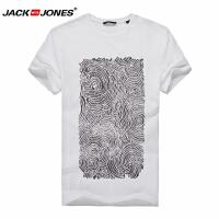 杰克琼斯时尚休闲百搭T恤1-2-7-215301017023
