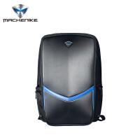 机械师(machenike)原装双肩电脑包 笔记本电脑包商务休闲书包 大中学生双肩包 黑色