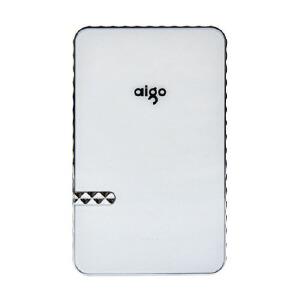 【当当自营】 aigo爱国者 PB8000 8000mAh 大容量移动电源 充电宝 便携充电器 白色