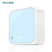 TP-LINK 普联 TL-WR802N 300M迷你型无线路由器 便携随身wifi上网穿墙王出差ap 有线转无线