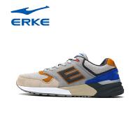鸿星尔克erke慢跑鞋男新品运动鞋复古跑步鞋字母防滑跑鞋耐磨11115120292