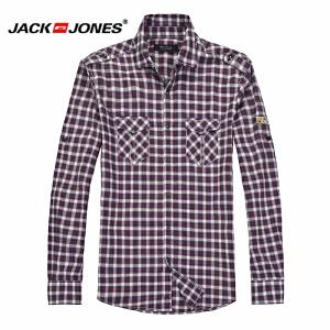 杰克琼斯 秋季 男士长袖衬衫 衬衣16-3-1-213105061070