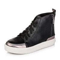 Teenmix/天美意专柜同款牛皮革女皮靴6WG41CD5