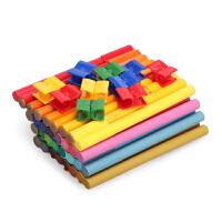 德国辉柏嘉 铁盒小汽车套装33色可拼砌水彩笔 儿童智力积木水彩笔