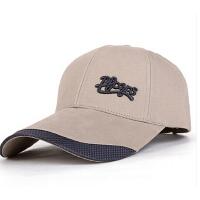 男士鸭舌帽子 夏天户外运动帽休闲帽大头围遮阳帽 韩版潮棒球帽子