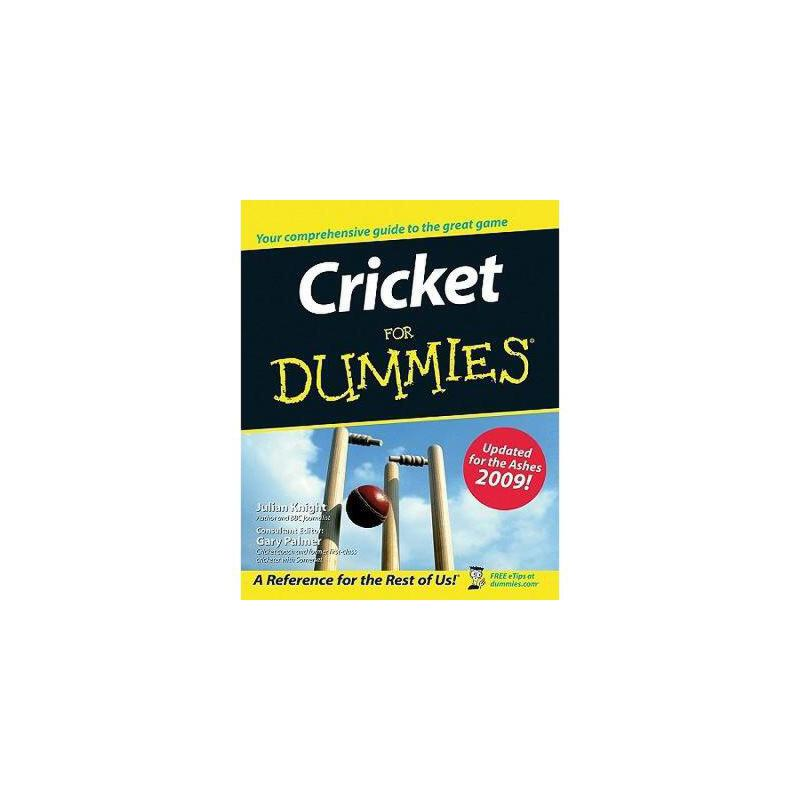 【预订】cricket for dummies