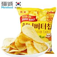 韩国进口 海太 蜂蜜黄油薯片60g土豆片薄脆片 膨化小吃零食品