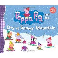 粉红猪小妹:雪山的一天【现货】英文原版童书Peppa Pig and the Day at Snowy Mountain小猪佩奇 儿童启蒙