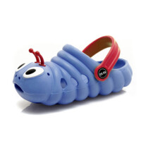 回力儿童鞋时尚可爱毛毛虫洞洞鞋舒适宝宝漂流鞋百搭沙滩鞋2212