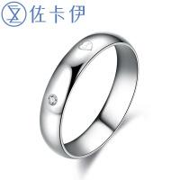 佐卡伊爱情密码钻石单个戒指拍下备注指圈