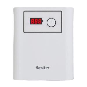 【当当自营】 Besiter倍斯特 BST-0157 10400mAh 天悦 智能液显手机 移动电源/充电宝 便携充电器  白色