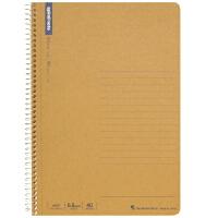 日本maruman美乐麦 spiral 牛皮纸封面螺旋笔记本 记事本A5 40页