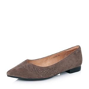 BATA/拔佳羊绒皮女单鞋AI325CQ6