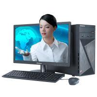 联想(Lenovo)家悦5055 家用台式电脑整机 四核A8-7600 4G内存 1T硬盘 2G独显 DVD Win10黑色