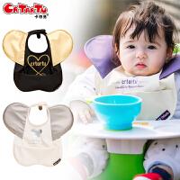 卡特兔婴儿用品围嘴围兜 新款宝宝口水兜儿童防水饭兜