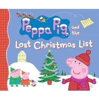 粉红猪小妹:失去的圣诞节清单【现货】英文原版童书Peppa Pig and the Lost Christmas List小猪佩奇