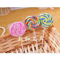 韩国文具可爱创意棒棒糖橡皮 儿童礼物 学生奖品4B橡皮擦