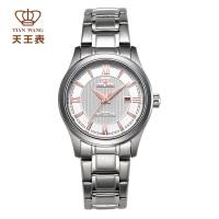天王表女士手表时尚商务复古镂空机械手表女表LS5685S/D-A