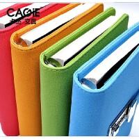 卡杰A6休闲时尚密码本带锁日记本手账文具笔记本记事本子盒装