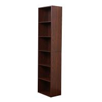 [当当自营]慧乐家 书柜书架 鲁比克L40六层书柜 组合层架柜子储物柜收纳柜置物柜 深红樱桃木色 11306
