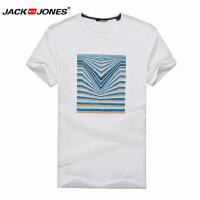 杰克琼斯时尚百搭T恤 1-4-14-214101048023
