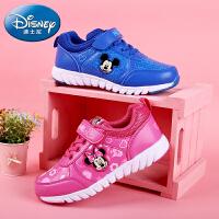 迪士尼儿童运动鞋2016春季新款男童女童鞋米奇米妮儿童休闲旅游鞋